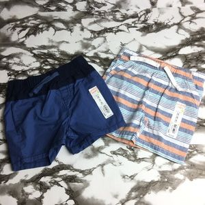 Jumping Beans toddler boy shorts lot of 2